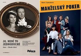 Výjimečně přidaná představení Divadla Palace