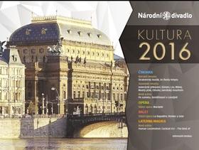 Národní divadlo Praha 2016