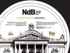 Nový dárkový certifikát - Národní divadlo Brno 2014/2015