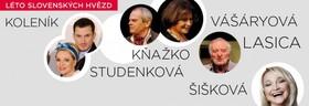Léto slovenských hvězd v divadle Studio DVA